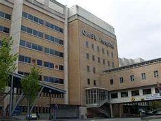OHSU Portland, where Ray is airlifted to after the car accident.