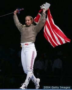 Mariel Zagunis #USA #Fencing selected as flag bearer for opening ceremony. #Olympics