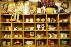 Vintage Store Housewares Display - Tokyo Japan