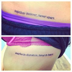 Phrase for heart tattoo