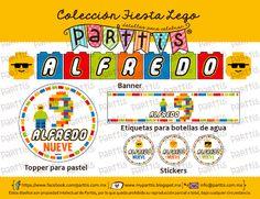 Diseño y creativas ideas para una Fiesta de Lego :: Lego party design and creative ideas
