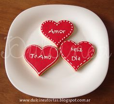 Cookies San Valentin