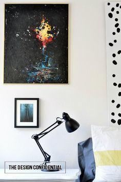 Vintage Art and a Gallery Wall Beginning   The Design Confidential