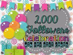 Pursuit of Joyfulness: 2,000 Followers Giveaway