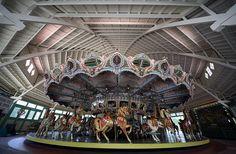 Carousel at Glen Echo Park, Maryland.