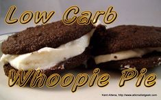 Whoopie Pies Shared on https://www.facebook.com/LowCarbZen | #LowCarb #Chocolate #Dessert #Snacks fasion zone, low carb, lowcarb, atkin diet, carb whoopi, whoopi pie, diet recipes, diets, whoopie pies