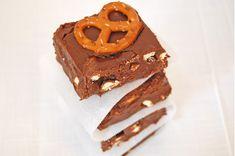 Chocolate Pretzel Fudge.