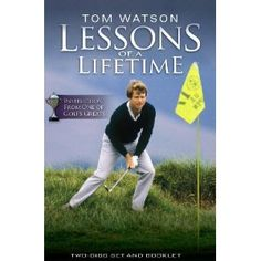 """Tom Watson """"Lessons of a Lifetime"""" 2 - disc DVD Set"""