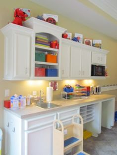 Church nursery ideas info on pinterest church nursery for Brammer kitchen cabinets
