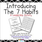 FREE activity to teach the 7 habits!