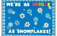 winter bulletin board idea