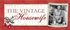 The Vintage Housewife vintage housewife, houses, polka dots, trailers, vintag housewif, housewif blog, beads, kids, cherries