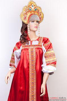 Шитье русского народного сарафана