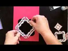 Card Making: Spellbinders Majestic Labels Card - YouTube