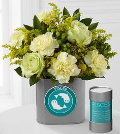 The FTD® Discovering Your Star Pisces Zodiac Flower Bouquet