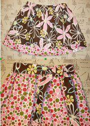 A 15-minute Girly (Big Sister-Li'l Sister) Skirt Tutorial