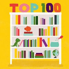 kid books, 100 mustread, reading for kids, top 100, age 914