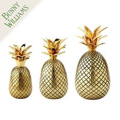 The pineapple is a traditional symbol of hospitality. Bunny Williams designed these timeless Pineapple lidded boxes as welcoming accents for your entry, kitchen or guest room to help make visitors feel at home.