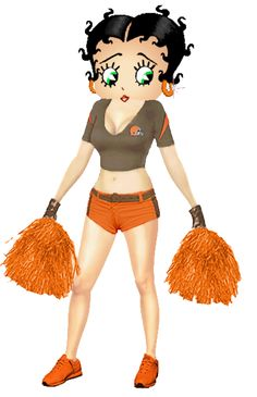 Betty Boop Browns Cheerleader photo BettyBoopBrownsCheerleader.png