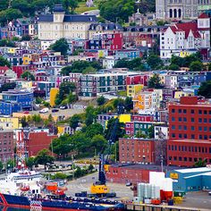 #Canada is colorful in St. Johns, Newfoundland!