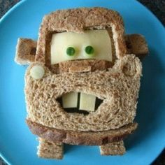 mater from cars sandwich