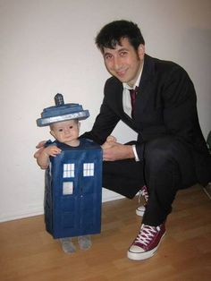 A Baby Tardis - Complete with the Doctor!