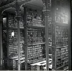 Once considered the most beautiful library in the country, The Public Library of Cincinnati was built in 1874 and sadly demolished in 1955.  (follow link to see more photos and history).  It grieves me to think of how much beautiful architecture has been lost because of short-sightedness and modernity.