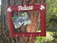 Jewelry organizer or picture frame and key holder. $35.00, via Etsy. www.etsy.com/shop/shabbyciccalifinds key holder, picture frames, pictur frame