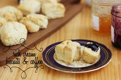 Rich Cream Biscuits & Coffee