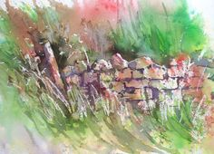 Did you ever think a dry stone wall could look so dynamic and colourful!? It's all thanks to Brusho, a totally new way to paint. Joanne Thomas shows you how in her latest book and DVD - find out more at BrushoSecrets.com