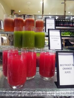 Glass Brasserie is a great spot for breakfast - they have an in-house fresh juice bar offering up shots, glasses and made-to-order specials.