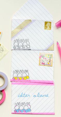Printable envelopes~So cute~ishtarolivera.com
