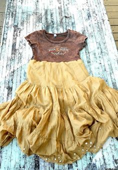 shirt with skirt attached