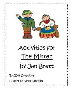 Activities for The Mitten by Jan Brett
