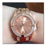 Birthday watchemoji #seksy#sekonda#rosegold#watch#diamonds#photooftheday#igdaily#whitagram#birthday#18