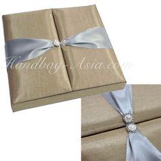 Golden Wedding Invitation Box