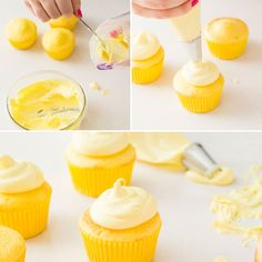 Make Lemon Cupcakes with this foolproof recipe.