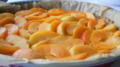 tarta cu caise si crema de vanilie