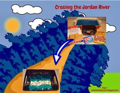 Joshua: Crossing the Jordan River