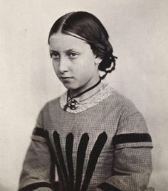 Princess Helena, the third daughter of Queen Victoria of the United Kingdom, ca. 1859.