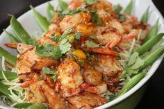 FAST AND EASY TO MAKE - Coconut Shrimp in Cilantro Orange Sauce Recipe #party #snacks finger food