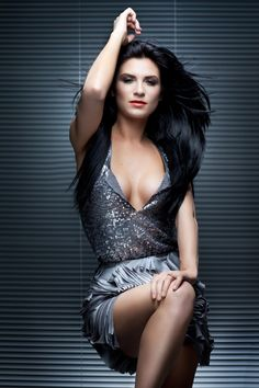 Romanian model Ellie White