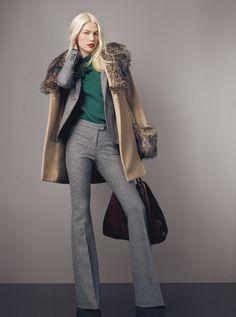 fashion, rachel zoe, grey suits, felt, dress