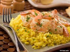 Five Minute Shrimp - Who knew you could throw together dinner so quickly?!