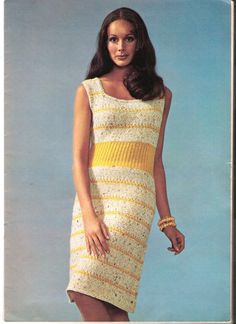 Knit Dress Pattern  SPORTY by suerock on Etsy, $3.99