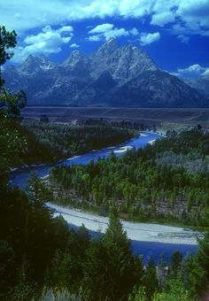 Grand Tetons and Snake River, Wyoming