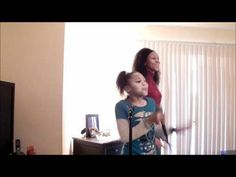 "▶ Jayna and Mommy jamming ""Rolling in the Deep"" -"