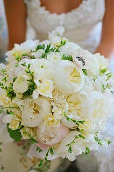 Beautiful bridal #bouquet