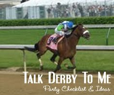 Kentucky Derby Party Checklist and Ideas - The Invitation Shop