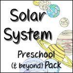 Printable pack. idea, printables, outer space, solar system preschool, homeschool, preschool pack, teach, solar system printable, preschools